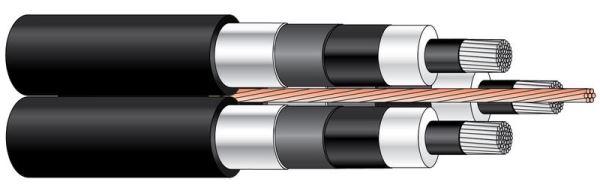 Aukštos įtampos kabeliai